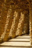 Park Guell in Barcelona from Antonio Gaudi,Spain Royalty Free Stock Photo