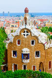 Park Guell in Barcelona, Catalonia, Spain Stock Photography