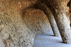 Park Guell, Barcelona Stock Image