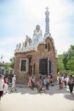 Park Guell, Barcelona Stock Photos