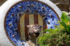 Park Guell, Barcelona Royalty Free Stock Photo