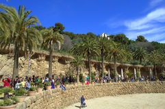 Park Guell,Barcelona Stock Photo