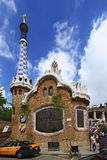 Park Guell in Barcelona Royalty Free Stock Photo
