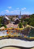 Park Guell in Barcelona Royalty Free Stock Photography