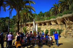 Park Guell,Barcelona Royalty Free Stock Image