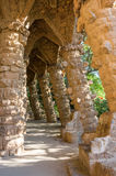 The Park Guell in Barcelona Stock Image
