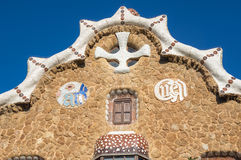 The Park Guell in Barcelona Stock Photos