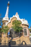 The Park Guell in Barcelona Stock Images