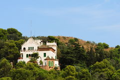 Park Guell in Barcelona, Spain Stock Images