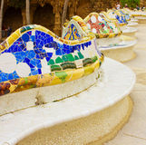Park Guell, Barcelona, Spain Royalty Free Stock Photo