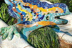 Park Guell, Barcelona, Spain. Royalty Free Stock Photos