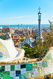 Park Guell in Barcelona, Spain. Stock Photography