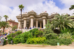 Park Guell in Barcelona. Spain Stock Photography