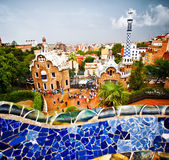 Park Guell, Barcelona Stock Photography