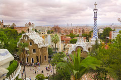 Park Guell ,Barcelona Spain Stock Image