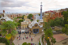 Park Guell ,Barcelona Spain Royalty Free Stock Photos