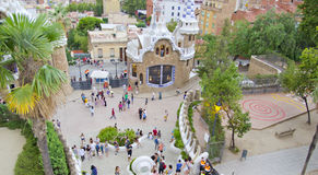 Park Guell ,Barcelona Spain Royalty Free Stock Photography