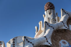 Park guell barcelona spain Royalty Free Stock Photography
