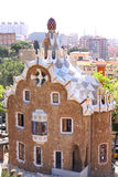Park Guell, Barcelona, Spain. View of Parc Guell in Barcelona, Spain Stock Images