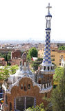 Park Guell, Barcelona, Spain. View of Parc Guell in Barcelona, Spain Royalty Free Stock Photography