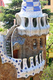 Park Guell, Barcelona, Spain. View of Parc Guell in Barcelona, Spain Stock Photos