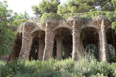 Park Guell Barcelona, Spain Royalty Free Stock Images