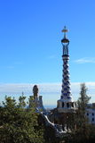Park Guell in Barcelona, Spain. Park Guell in Barcelona, Catalonia, Spain Stock Photo