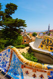 Park Guell - Barcelona Spain Stock Images