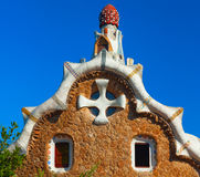 Park Guell. Barcelona, Spain Royalty Free Stock Photo