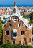 Park Guell. Barcelona, Spain Stock Images