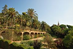 Park Guell, Barcelona - Spain Royalty Free Stock Photography