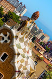 Park Guell - Barcelona Spain Royalty Free Stock Images