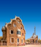 Park Guell in Barcelona, Spain Stock Photos