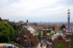 Park Guell in Barcelona Stock Photos