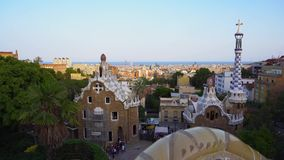Park Guell, Barcelona stock video