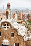 Park Guell Barcelona Stock Photography