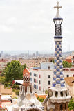 Park Guell Barcelona Stock Images