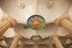 Park Guell Barcelona Stock Image