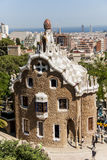Park Guell in Barcelona, Spain Stock Photo