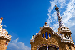 Park Guell - Barcelona Spain Royalty Free Stock Photo