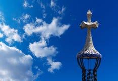 Park Guell - Barcelona Spanien Lizenzfreie Stockbilder