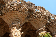 Park Guell, Barcelona Royalty Free Stock Photos