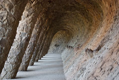Park Guell in Barcelone, Spain Stock Photography