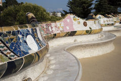 Park Guell in Barcelone, Spain Stock Photos