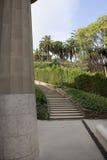 Park Guell. Barselona. Spain-2014 stock photos