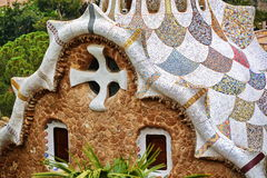Gaudi house Stock Images
