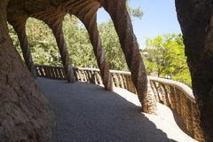 Park guell detail Royalty Free Stock Photography