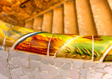 At Park Guell stock images