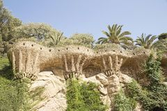 Park Guell stock foto