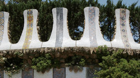 Park Guell elements Royalty Free Stock Image